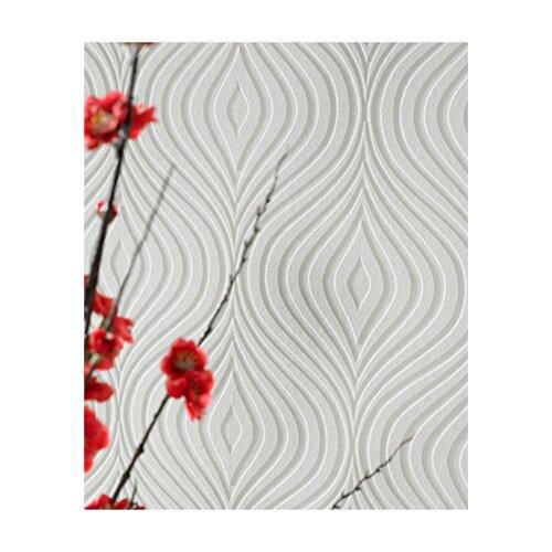 Graham & Brown Paintable Curvy Geometric Wallpaper