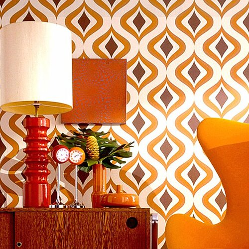 Graham & Brown Trippy Geometric Wallpaper