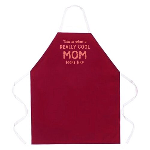 Attitude Aprons by L.A. Imprints Really Cool Mom Apron
