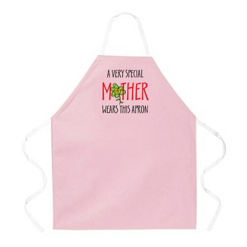 Special Mother Pink Apron