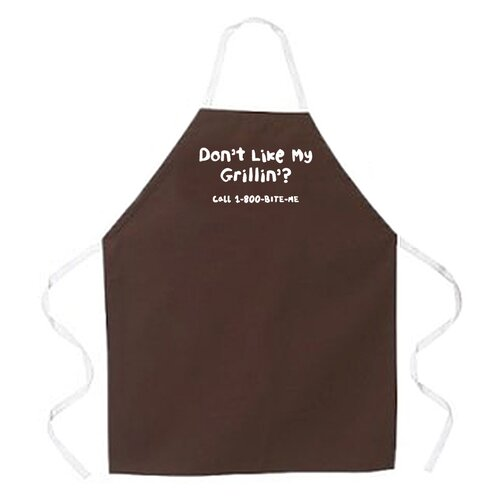 Attitude Aprons by L.A. Imprints Don't Like My Grillin Apron