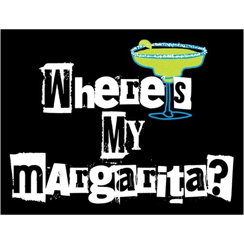 Attitude Aprons by L.A. Imprints Where's My Margarita? Apron