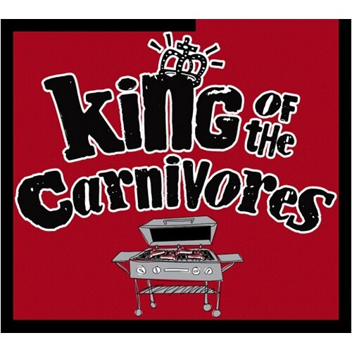 Attitude Aprons by L.A. Imprints King of The Carnivores Apron