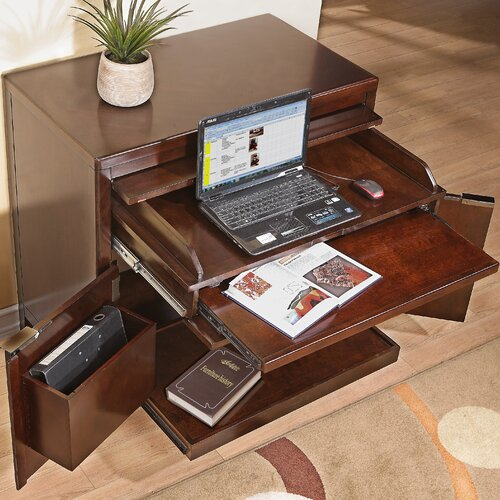 "Pulaski Furniture Tangerine 39"" Accent Executive Work Center"