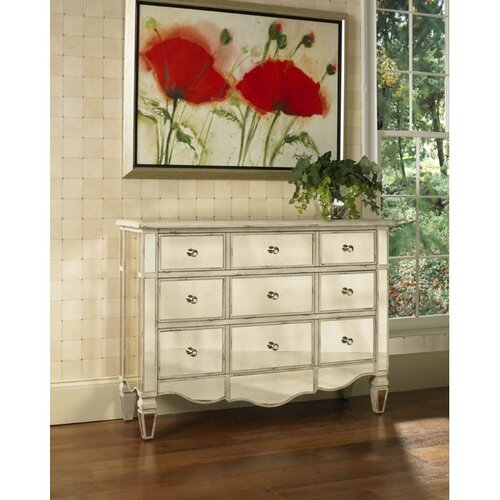 Pulaski Furniture Radiance Mirrored 3 Drawer Accent Chest