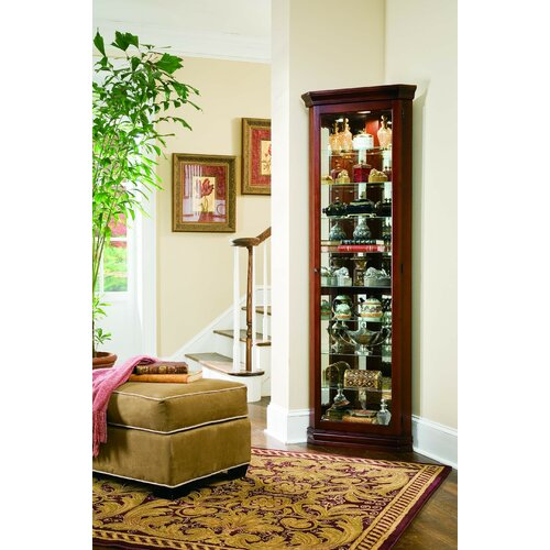 Pulaski Furniture Keepsakes Corner Curio Cabinet