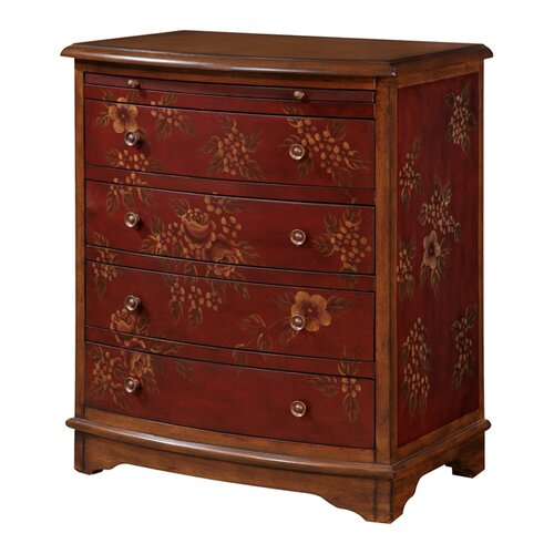 Pulaski Furniture Artistic Expression Hand Painted 4 Drawer Accent Chest
