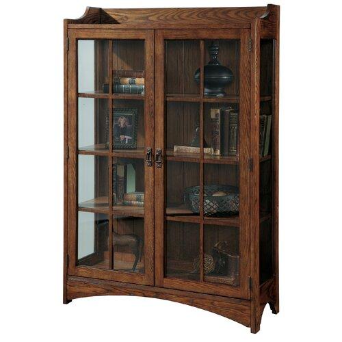 Pulaski Bookcase Curio Cabinet Reviews Wayfair