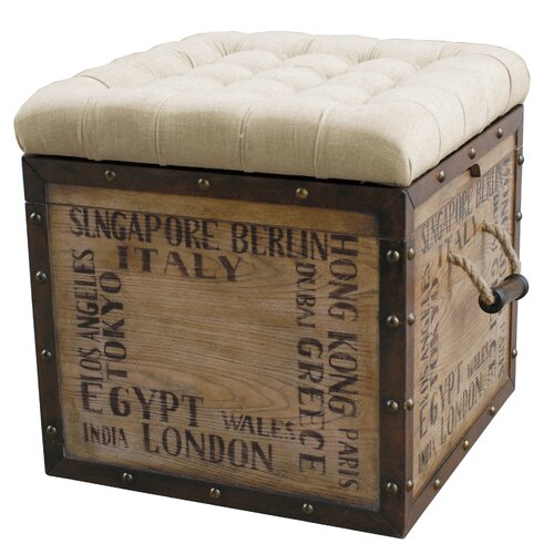 Pulaski Furniture Cube Ottoman