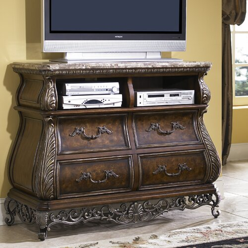 Pulaski Furniture Birkhaven 4 Drawer Media Chest
