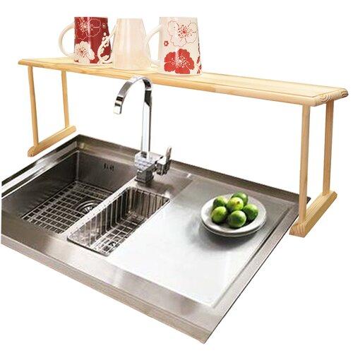 Home Basics Over Sink Shelf I & Reviews