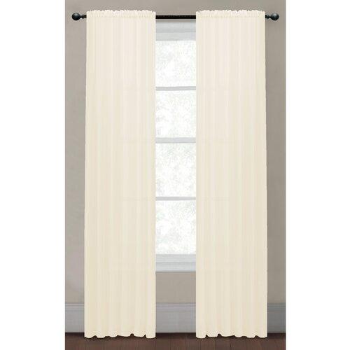 Textured Sheer Curtain Panels Crinkle Sheer Curtain Panels