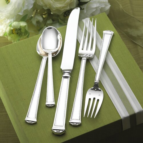 Tuttle Pantheon 66 Piece Dinner Flatware Set