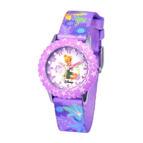 Disney Watches Girl's Glitz Tinker Bell Time Teacher Watch