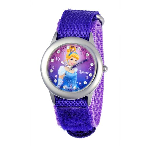 Girl's Glitz Cinderella Time Teacher Watch