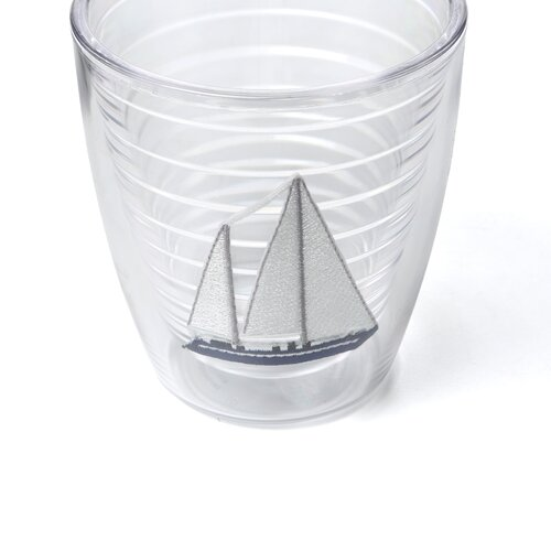 Tervis Tumbler Nautical Sailboat Hc 12 oz. Insulated Tumbler