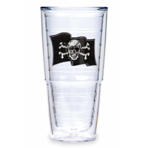 Pirate Flag Swords 24 oz. Insulated Tumbler (Set of 2)