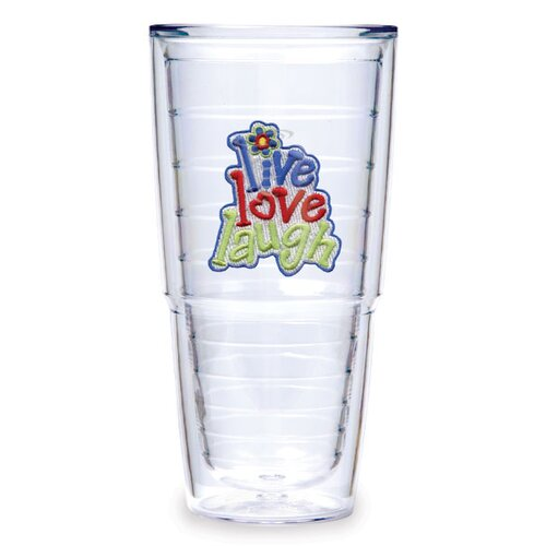 Tervis Tumbler Live Love Laugh 24 oz. Insulated Tumbler