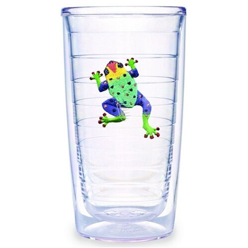 Tervis Tumbler Tropical and Coastal Frog 16 oz. Insulated Tumbler