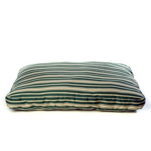 Indoor/Outdoor Striped Dog Pillow