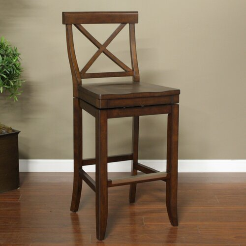 "American Heritage Stetson 30"" Swivel Bar Stool"
