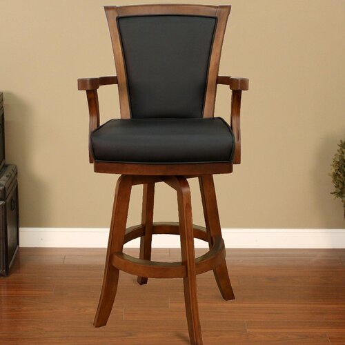 Auburn Swivel Bar Stool with Cushion