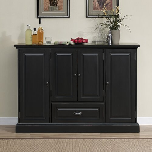 American Heritage Carlotta Bar Cabinet With Wine Storage Amp Reviews Wayfair
