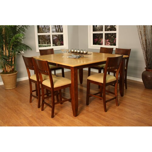 Andria Butterfly Counter Height Dining Table