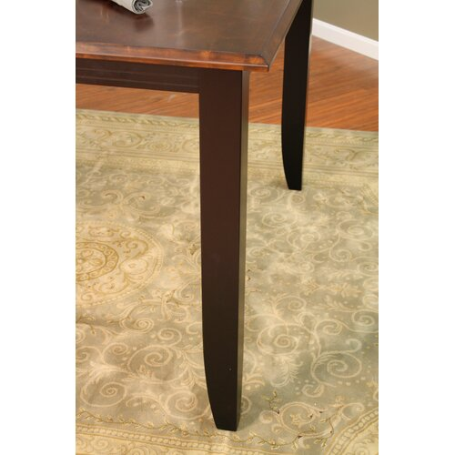 American Heritage Rosetta Butterfly Counter Height Dining Table