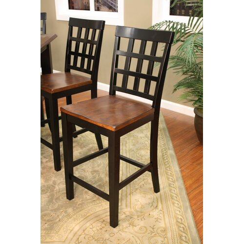 American Heritage Rosetta 7 Piece Counter Height Pub Set