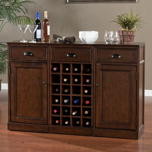 American heritage natalia bar cabinet reviews wayfair for Kitchen cabinets 60007