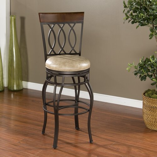 "American Heritage Bella 30"" Swivel Bar Stool"