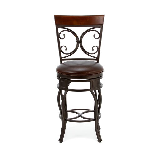 "American Heritage Treviso 26"" Swivel Bar Stool"