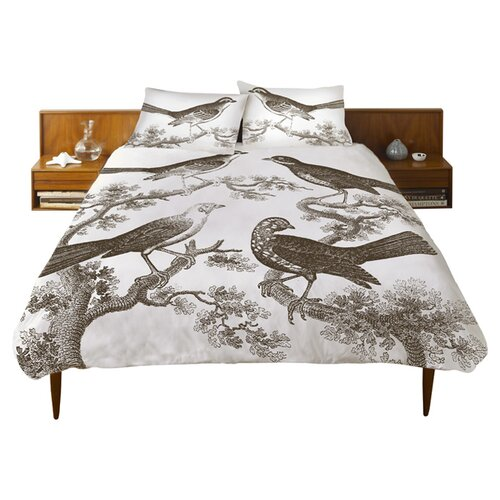 Thomas Paul Ornithology Cotton Duvet Cover