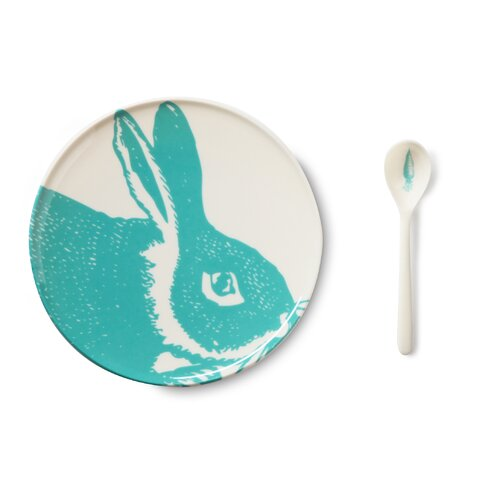 Thomas Paul Bunny 4 Piece Place Setting