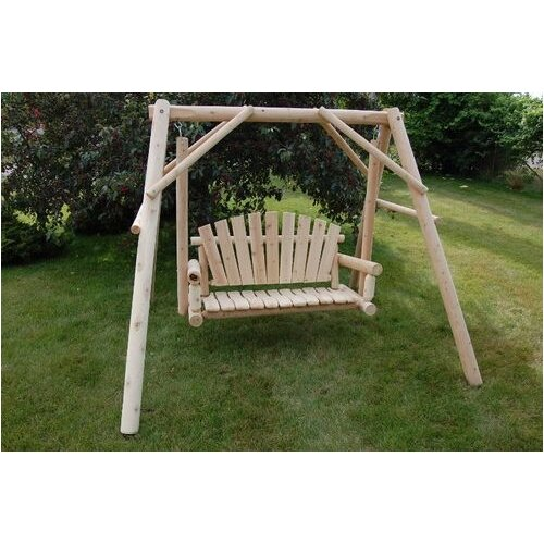 Lawn Porch Swing with Stand