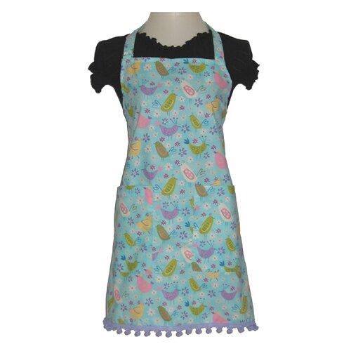 Sassy Cook'n Cheery Chirps Women's Bib Style Apron