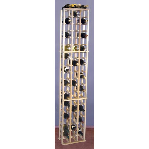Premium Redwood 63 Bottle Wine Rack