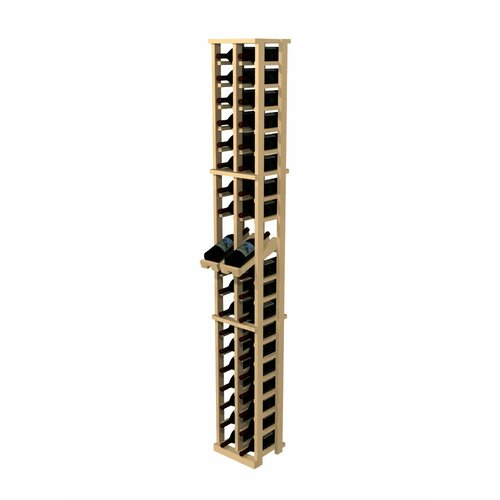 Rustic Pine 40 Bottle Wine Rack