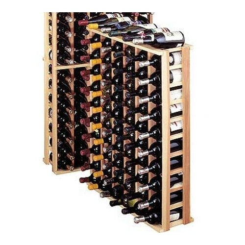 Wine Cellar Innovations Premium Redwood 66 Bottle Wine Rack
