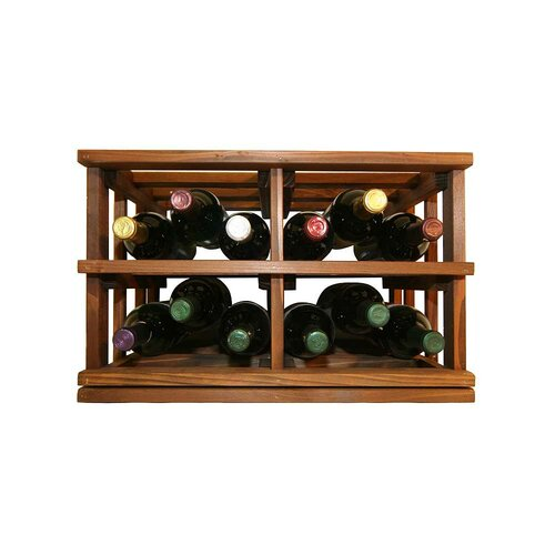 Mini Stack Series 12 Bottle Tabletop Wine Rack