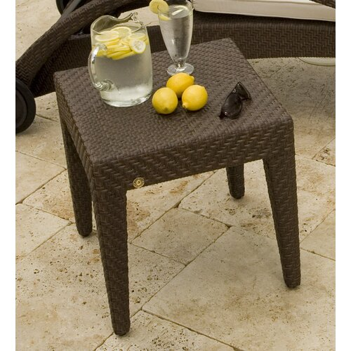 Hospitality Rattan Soho Patio Wicker Side Table