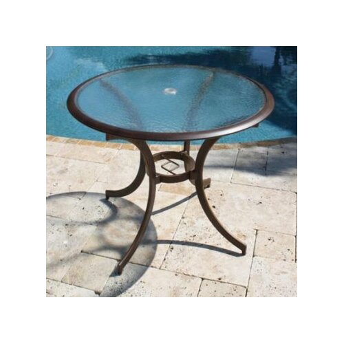 Coco Palm Patio Round Bistro Dining Table