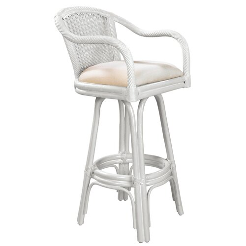 Hospitality Rattan Key West  Barstool with Cushion