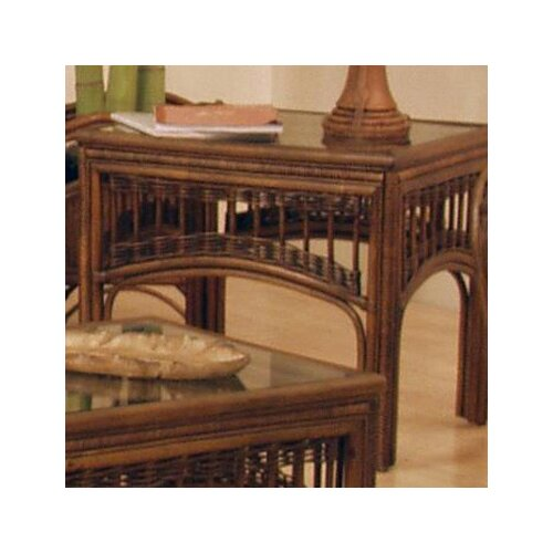 Hospitality Rattan St. Lucia Rattan End Table