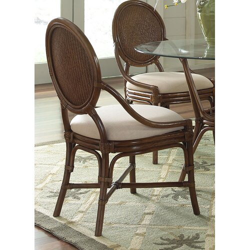 Hospitality Rattan Oyster Bay Dining Side Chair with Cushion
