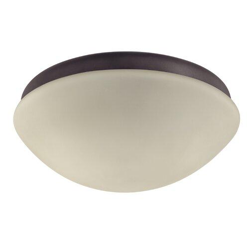 Hunter Fans Low Profile Two Light Outdoor Ceiling Fan