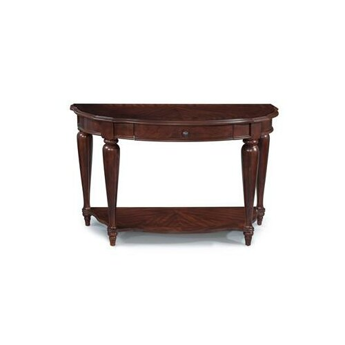 Heritage Point Demilune Console Table