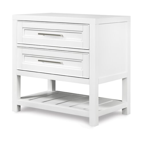 Magnussen Furniture Clearwater 2 Drawer Nightstand