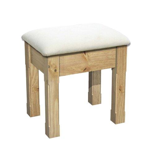 Conniston Upholstered Dressing Table Stool Wayfair Uk